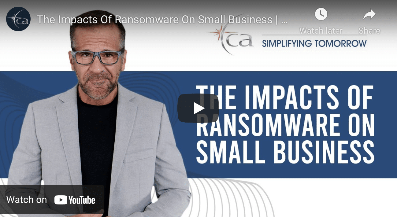 The Cost of Ransomware on Small Businesses